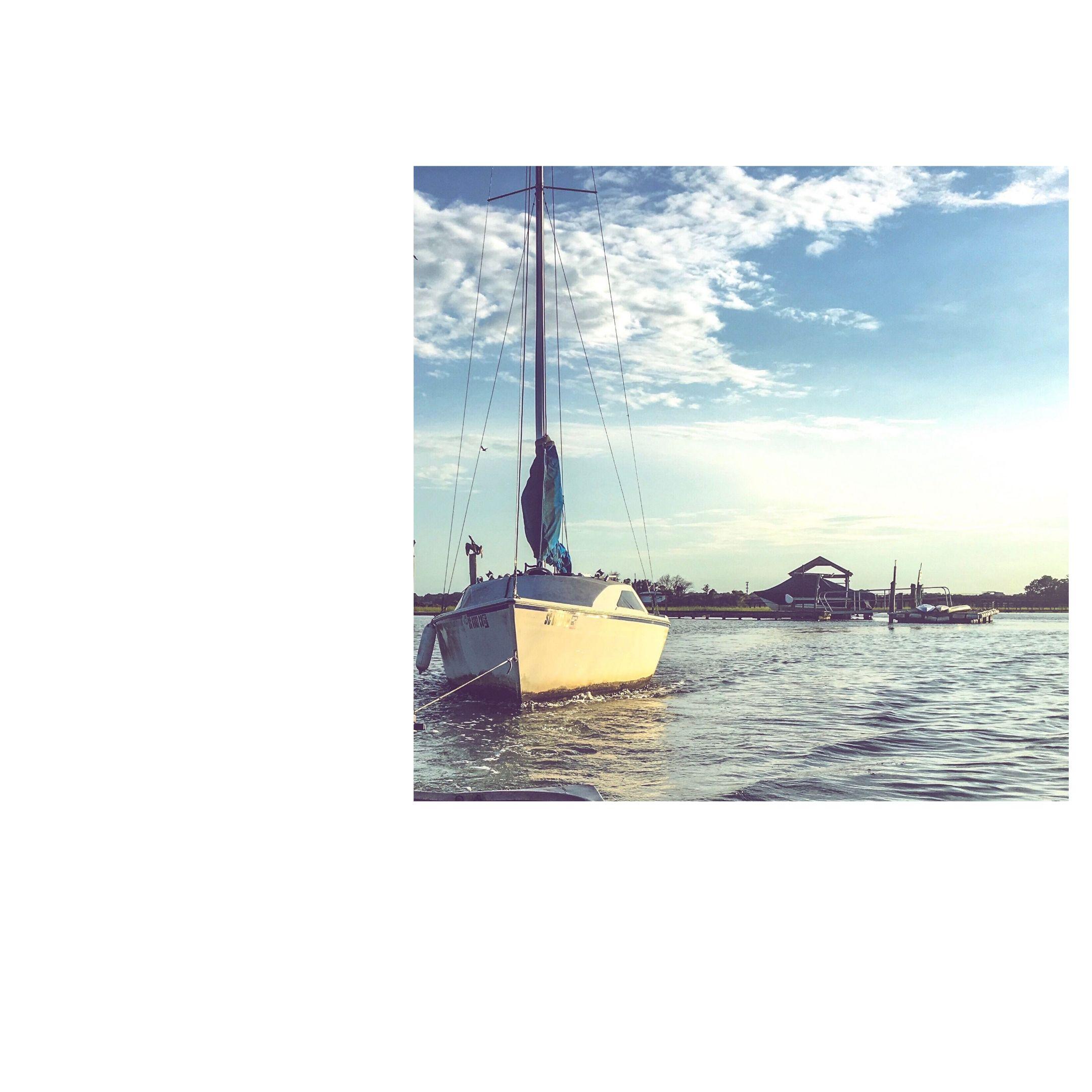 sailboat theft in progress