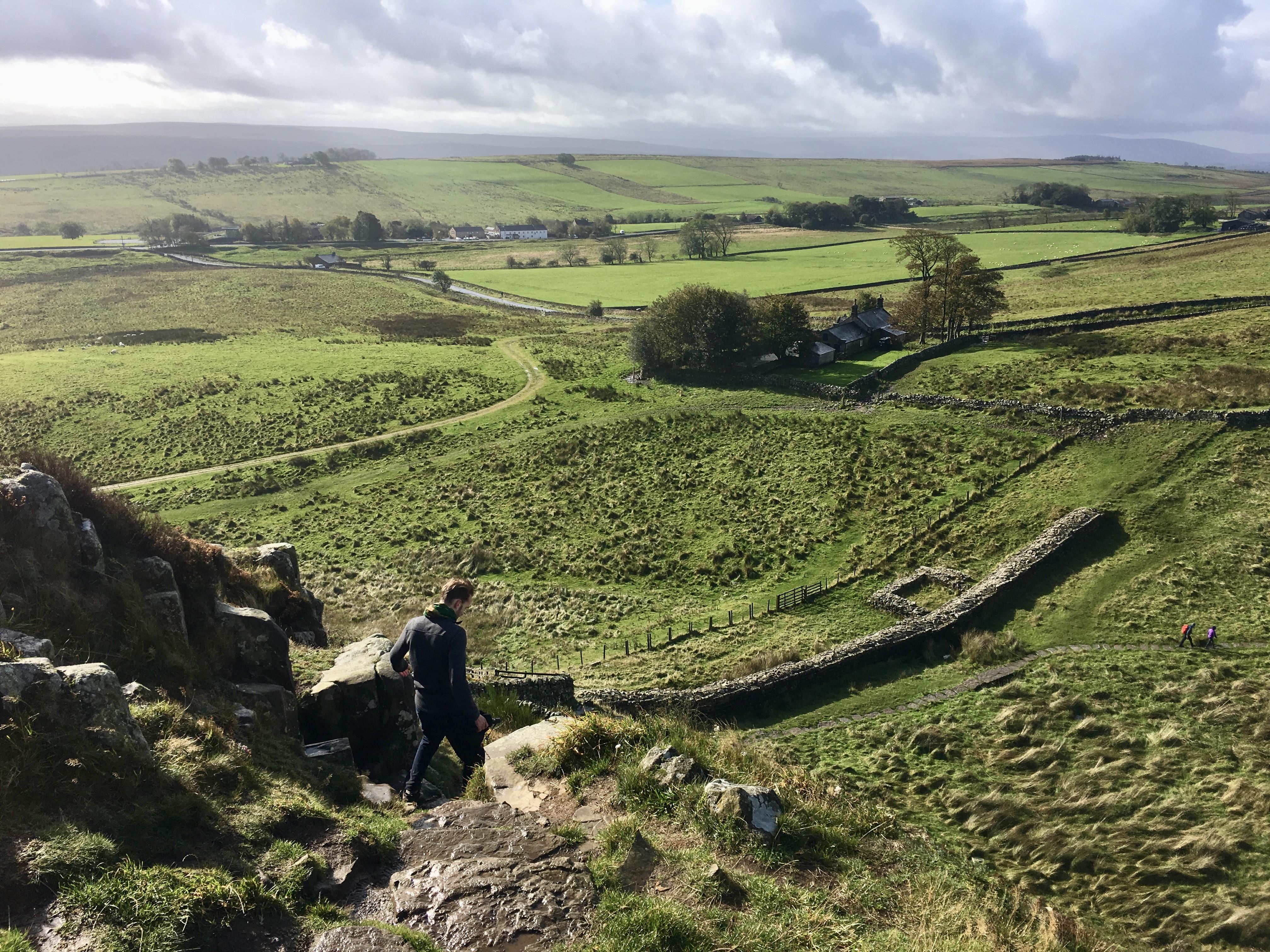 Hadrian's Wall w/ Aaron