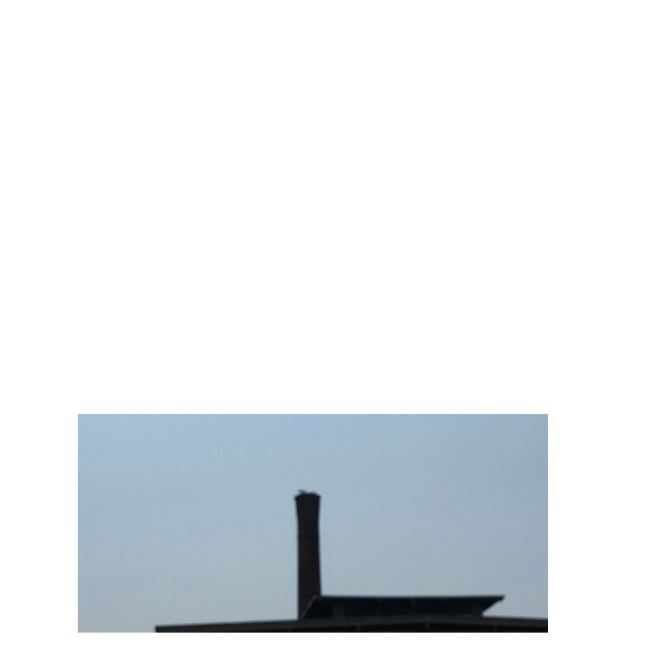 fuzzed out repurposed mill smokestack